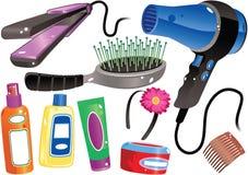 Продукты волос Стоковое фото RF