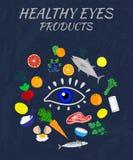 Продукты здоровья глаза Стоковые Изображения RF