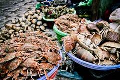 продукты моря рынка Стоковое фото RF