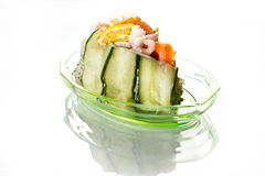 продукты моря торта Стоковые Фотографии RF