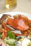 продукты моря диска Стоковые Фото