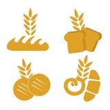 Продукты пшеницы иллюстрация штока
