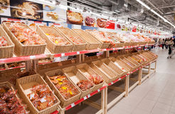 Продукты хлебопекарни готовые к продаже Стоковое фото RF