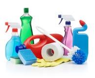 продукты чистки Стоковая Фотография
