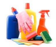 продукты чистки Стоковая Фотография RF