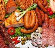 продукты butcher Стоковое Изображение RF