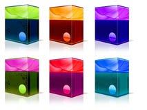 продукт коробки Стоковая Фотография RF