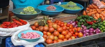 Продукция в Mercado Стоковые Изображения