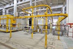 Продукция газовых плит Стоковые Фотографии RF
