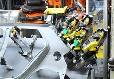 Продукция нового автомобиля Стоковое фото RF