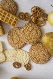 Продукция печенья с грушами 04 Стоковое Фото