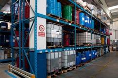 Продукция промышленного масла Стоковые Изображения RF