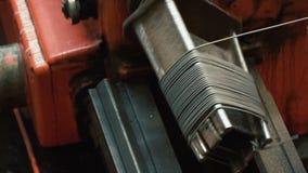 Продукция продуктов провода металла сток-видео