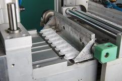 Продукция пластичной крышки коробки сока Стоковые Изображения