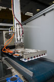 Продукция пластичной крышки коробки сока Стоковое Изображение RF