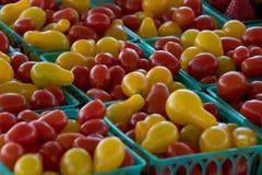 Продукция рынка фермера Калифорнии: Яркие томаты Heirloom Стоковые Фотографии RF