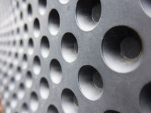продырявит металлическое Стоковые Изображения RF