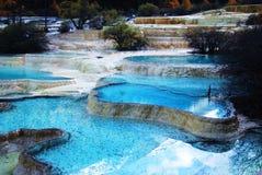пруды miniscape huanglong Стоковое Фото