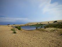Пруд внутри дюны Стоковая Фотография RF