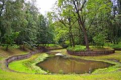 пруд парка Стоковая Фотография