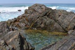 Пруд пляжа стоковые изображения