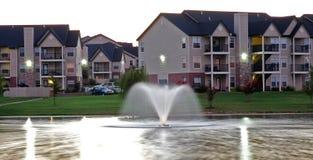 пруд фонтана Стоковое Фото