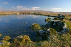 пруд moorland Стоковые Фотографии RF
