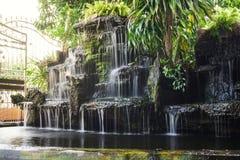 Пруд водопада стоковое изображение