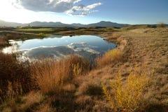 Пруд горы осени Стоковая Фотография RF