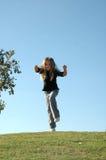 прыгать стоковое изображение