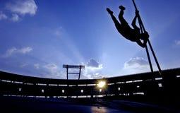 Прыжок с шестом Стоковые Фото