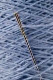 пряжа иглы льна Стоковое Изображение RF