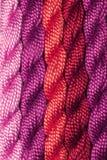 пряжа пасм вышивки Стоковая Фотография