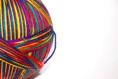 пряжа шарика большая Стоковые Изображения