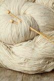 Пряжа шерстей Стоковое Фото