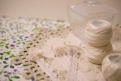 Пряжа для вышивки Стоковое фото RF