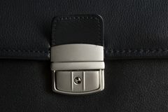 пряжка портфеля Стоковые Фотографии RF