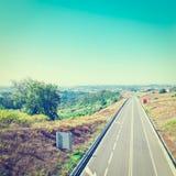 Прямая дорога Стоковая Фотография