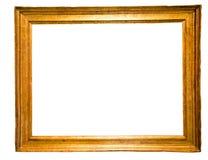 Прямоугольная рамка для зеркала на изолированной предпосылке Стоковые Фото