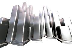 прямоугольники 3d Стоковая Фотография RF