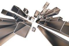 прямоугольники 3d Стоковые Изображения RF