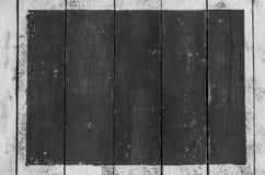 Прямоугольник муки на деревянной предпосылке для текста надписи стоковые изображения