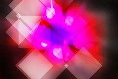 Прямоугольная абстрактная предпосылка Стоковая Фотография