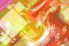 Прямоугольная абстрактная предпосылка Стоковые Изображения RF