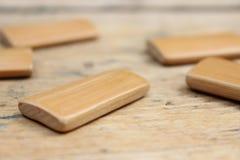 Прямоугольные деревянные доски Стоковая Фотография