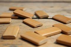 Прямоугольные деревянные доски Стоковые Фотографии RF