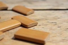 Прямоугольные деревянные доски Стоковое Изображение