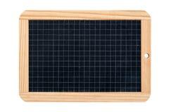 Прямоугольный изолированный шифер школы стоковая фотография