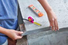 Прямоугольный инструмент Стоковое фото RF