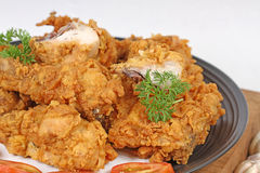 Пряная жареная курица стоковое изображение rf